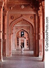 jama, pradesh, uttar, モスク, fatehpur, sikri, masjid, インド, ...