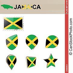 jamaica läßt, satz, fahne, satz, #128