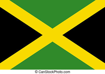 jamaica, nemzeti lobogó