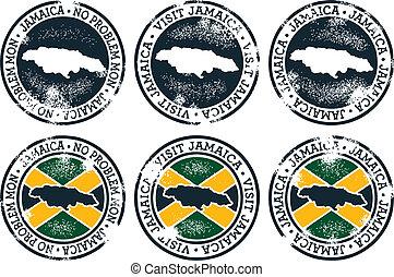 jamaica, sellos