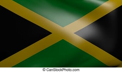 jamaica strong wind flag