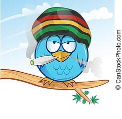 jamaican owl cartoon