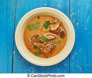 Jamaican Run Down - Jamaican Mackerel Run Down, stew dish in...