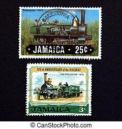 jamaika, briefmarke