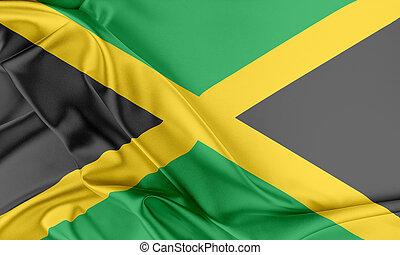 jamaika, flag.