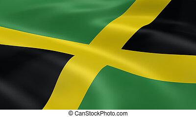 jamaikanische markierungsfahne, wind
