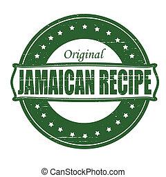jamaiquino, receta