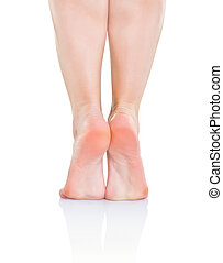 jambes, femme