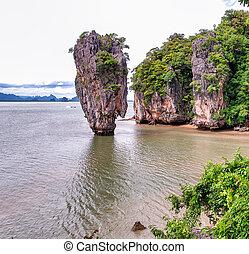 james, obrigação, ilha, tailandia