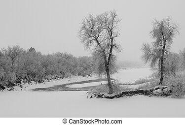 James River Winter