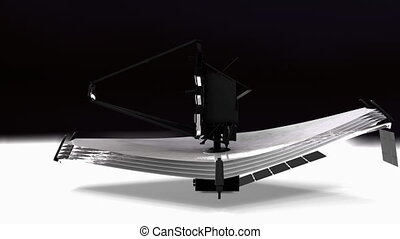"""James Webb Space Telescope, JWST"" - ""Computer generated, ..."
