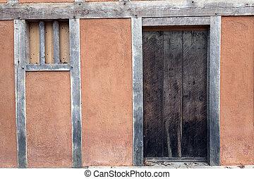 jamestown, -, historyczny, dom