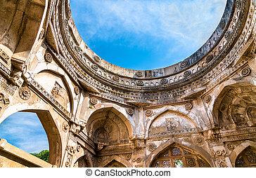 jami , masjid , ένα , μεγαλείτερος , περιηγητής ατραξιόν , σε , champaner-pavagadh, αρχαιολογικός , πάρκο , - , gujarat, ινδία