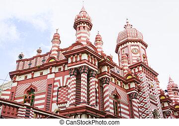 jami-ul-alfar, sri lanka, meczet, colombo