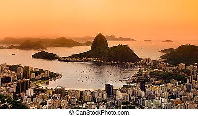 janeiro, brésil, de, rio