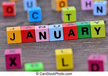 janeiro, palavra, tabela