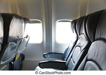 janela, avião