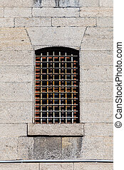 janela, barras