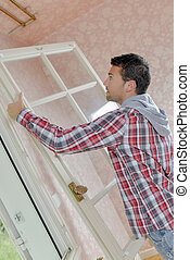 janela, instalar