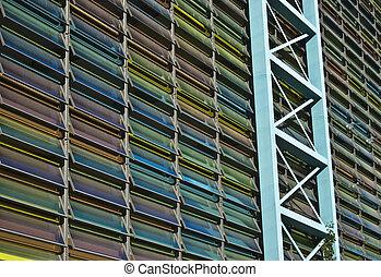 janelas, coloridos