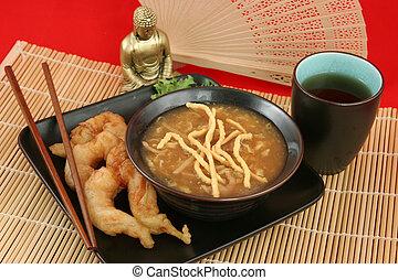 jantar, 2, chinês
