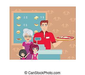 jantar, barzinhos, família