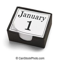 januar, zuerst