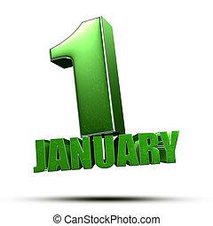 January 1 3d.