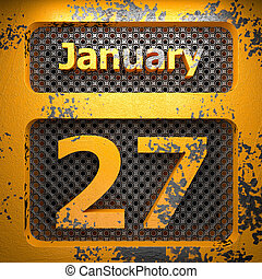 january 27 of painted steel