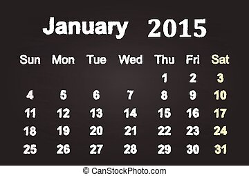 January Month 2015