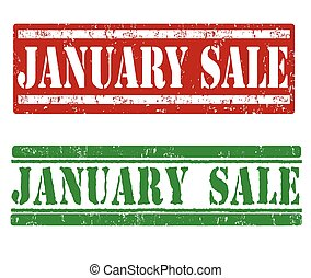 January sale stamps