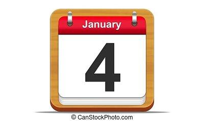 January. - January calendar.