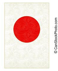 japán, kártya