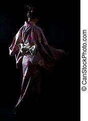 japão, quimono