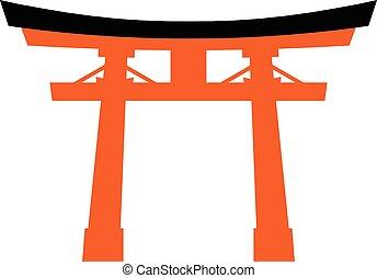 japão, torii