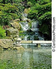 japón, cascadas