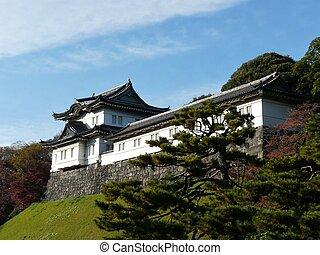 japón, palacio imperial, tokio