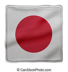 Japan 3d flag