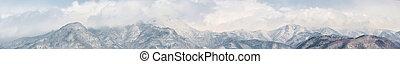japan, alps, panorama