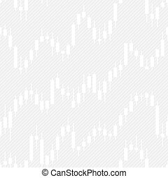 Japan candlestick financial charts seamless pattern.