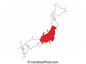 Drawing Of Japan Map Black Map Of Japan Country With Neighbors - Japan map drawing