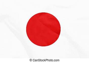 japan flag with texture on background