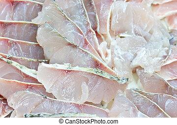 Japan food. Fresh japanese fish