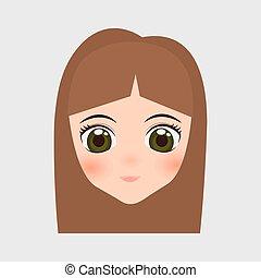 japan girl design