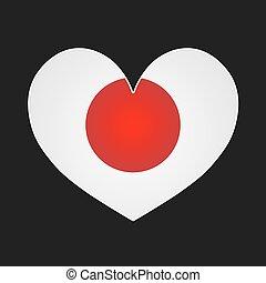 Japan heart.
