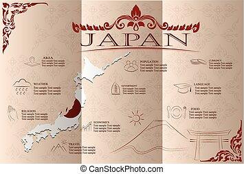 Japan infographics,