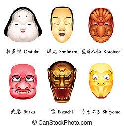japan, masker, iv