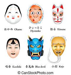 japan, masker
