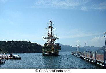 Japan. Pleasure boat