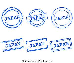 japan, postzegels